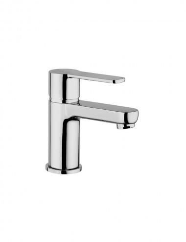 Miscelatore monocomando lavabo Jacuzzi rubinetterie Eolo cromato con piletta