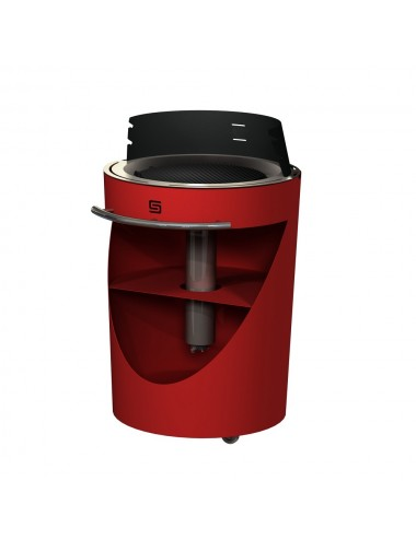 Barbecue a Pellet in metallo King Compact Sarom vari colori
