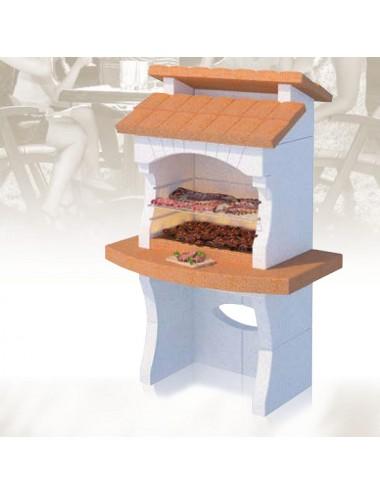 Barbecue a muratura Ibiza Linea Vz legna e carbonella