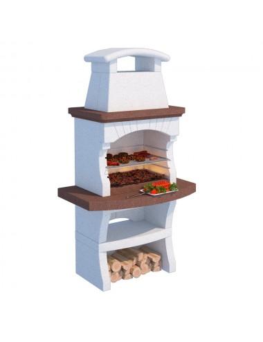 Barbecue a muratura Maiorca Linea Vz legna e carbonella