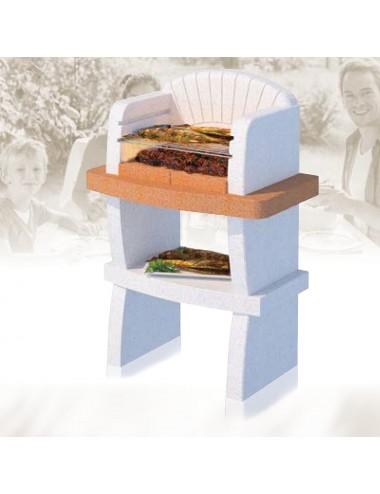 Barbecue a muratura Modena Linea Vz legna e carbonella
