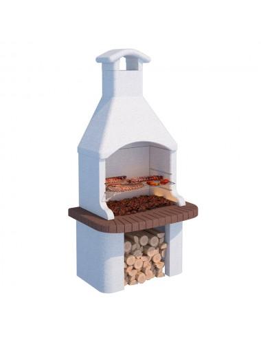 Barbecue a muratura Tremiti Linea Vz legna e carbonella