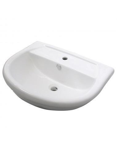Lavabo in ceramica bianco 56 modello Kaila Linpha Sanitary
