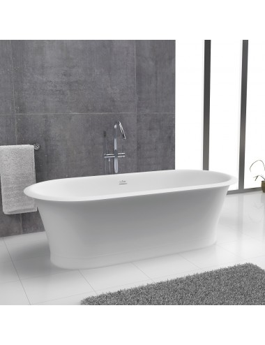Vasca da bagno freestanding centro stanza Classic Forma Aquae cm 180 x 88 x 57 h