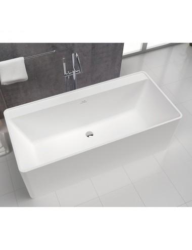 Vasca da bagno Freestanding centro stanza Cabana cm 170 x 80 x 60 h
