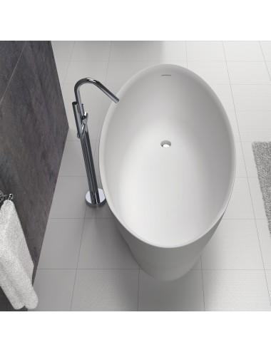 vasca da bagno freestanding centro stanza Flow cm 170 x 85 x 67 h
