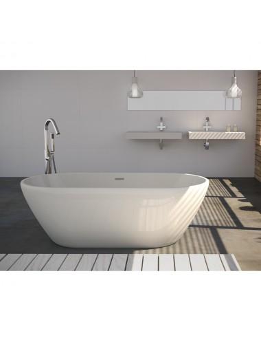 Vasca da bagno freestanding centro stanza Trento 170 x 80 x 57 h