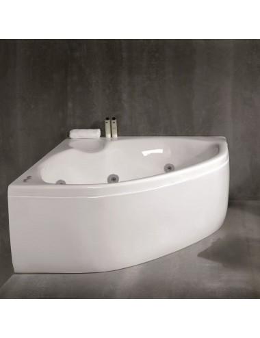 Vasca da bagno angolare Hera idromassaggio cm 150 x 150 x 64.5 h
